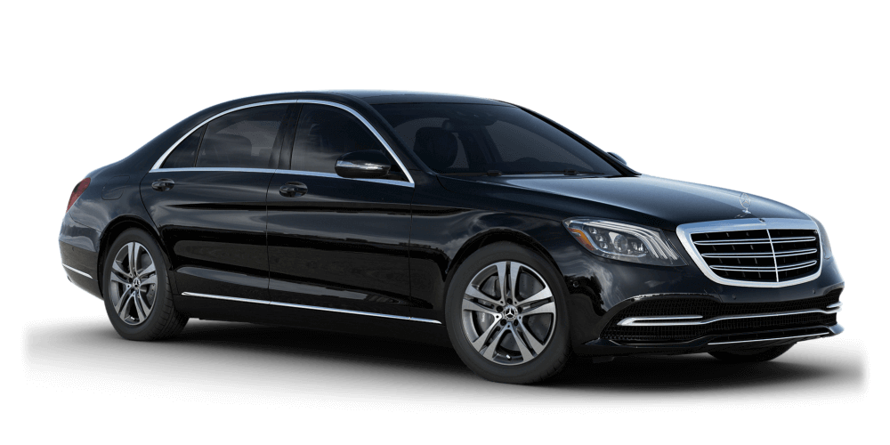 Preston Black Luxury Transport, Airport Taxi, 2018-MB-S-Class-Black